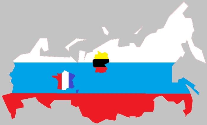 Россия - Германия - Франция МЯ